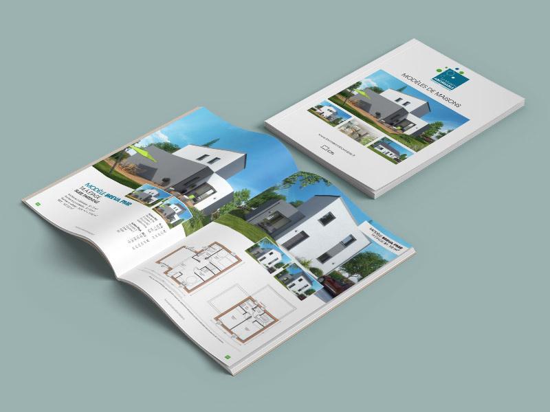 Catalogue brochure communication