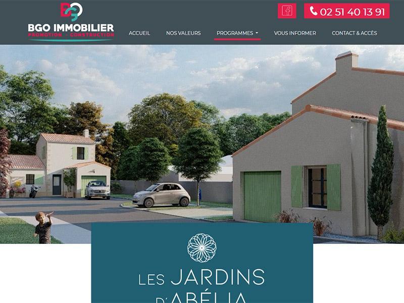 Site Internet promoteur immobilier