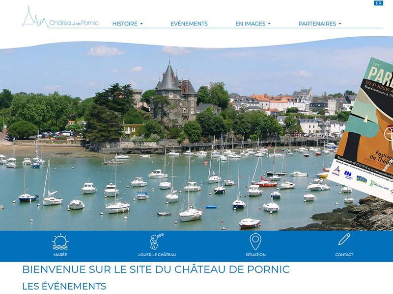 Site internet du château de Pornic